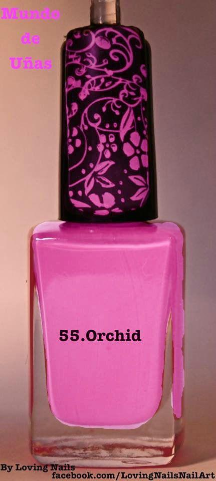 Mundo de Uñas   Stamping Polish - 14ml - 55 Orchid