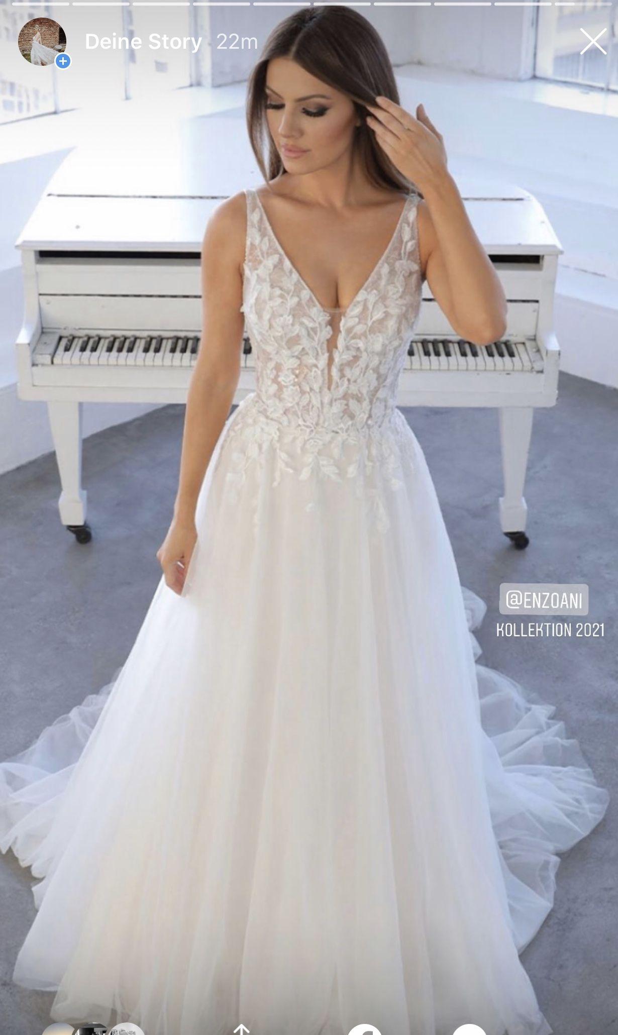V-line Wedding Dress 💕 in 10  Kleid hochzeit, Atemberaubende