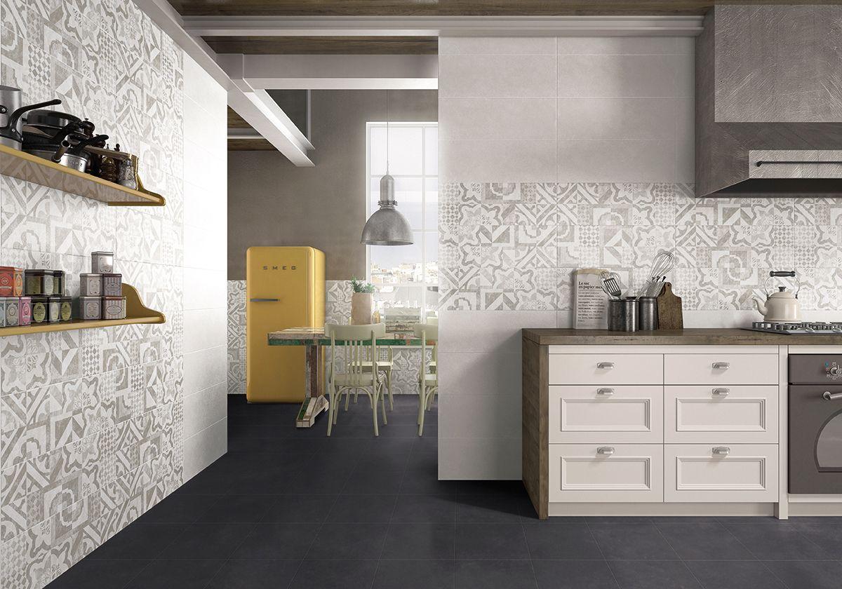 Rivestimento bagno o cucina in pasta bianca matt medio