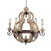Found it at Wayfair - Mallow 6 Light Candle Chandelier