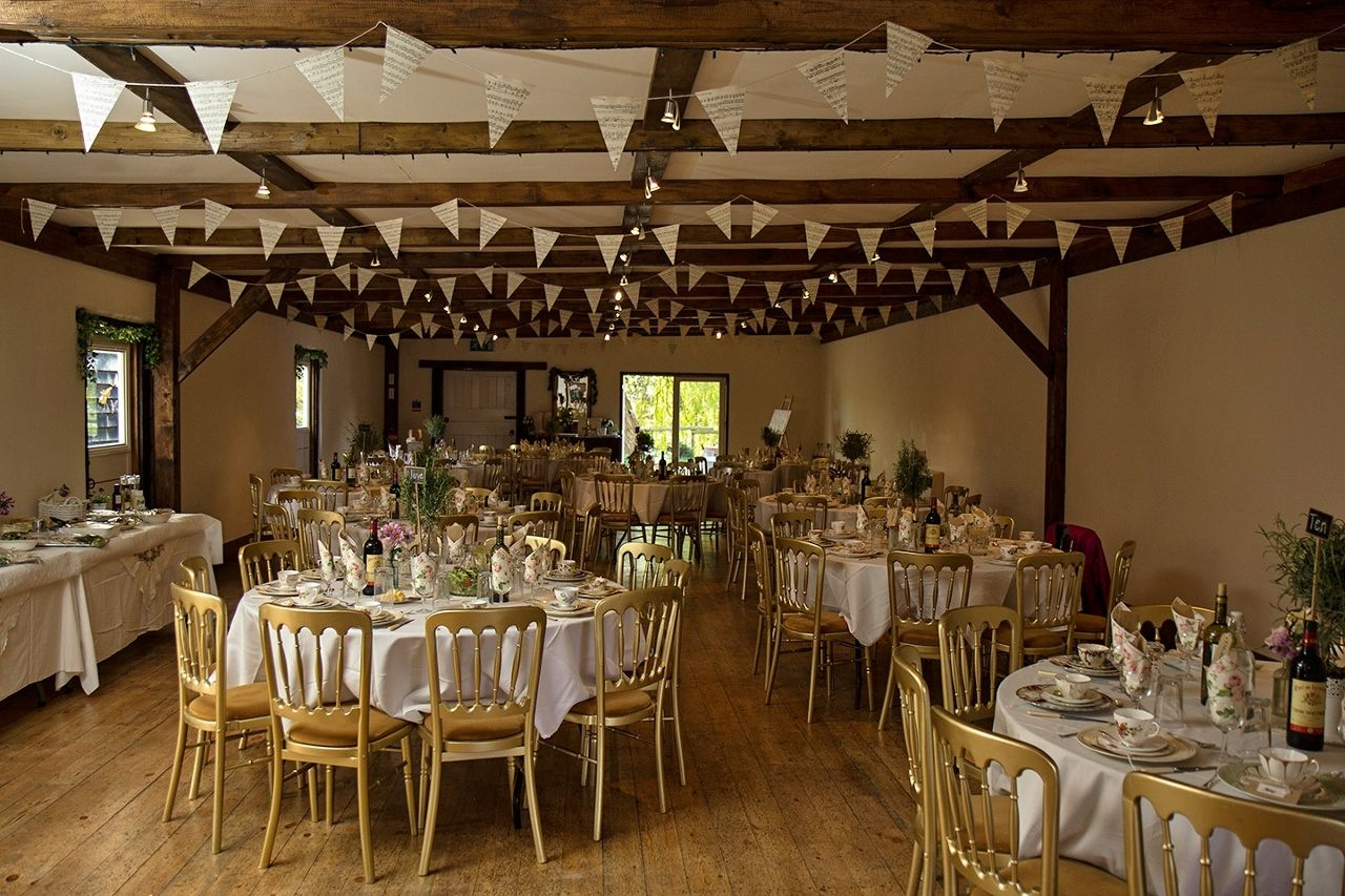 Music paper bunting - Hand Made wedding -  www.thevintagehire.com