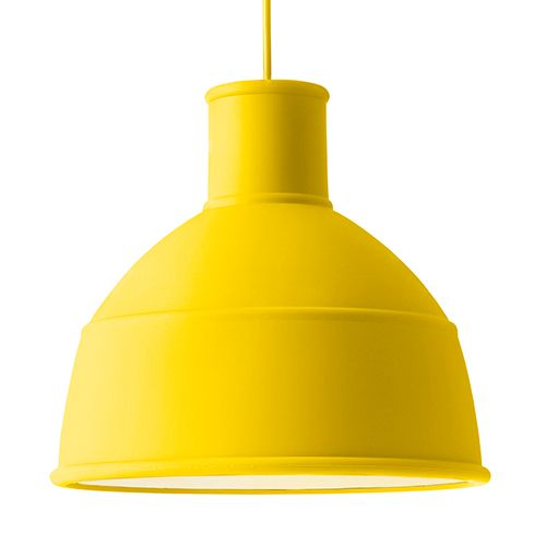 Muuto Yellow UNFOLD Pendant Light UNFOLDu0027s soft silicon rubber shade by Muuto creates a unique and playful take on the classic industry l& design.  sc 1 st  Pinterest & Muuto Unfold Pendant Light | Pendant lighting Pendants and Lights