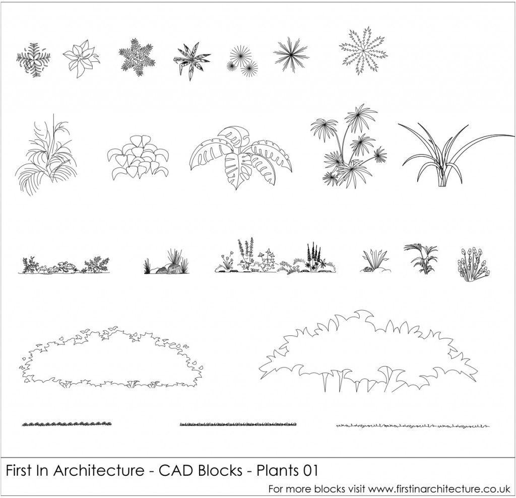 Fia Cad Blocks Plants Jpg Fonts Frames Etc