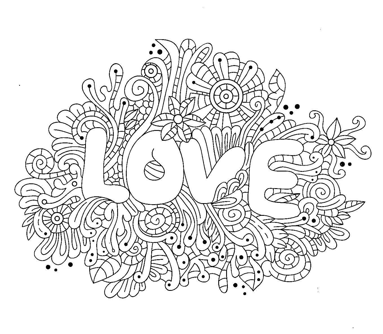 название раскраска любовь категория антистресс теги для