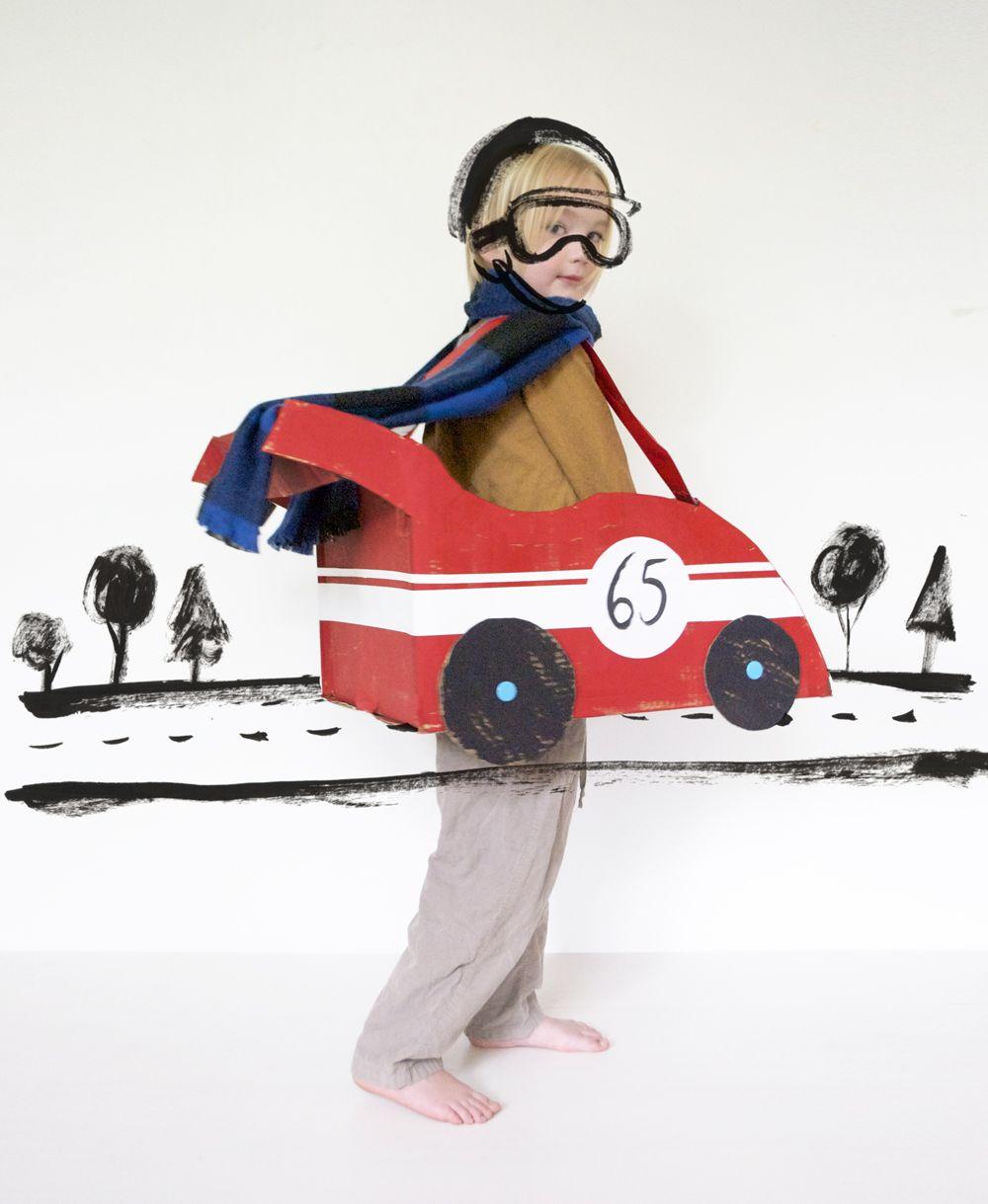 make your own cardboard car kids 21 instagram contest mermag