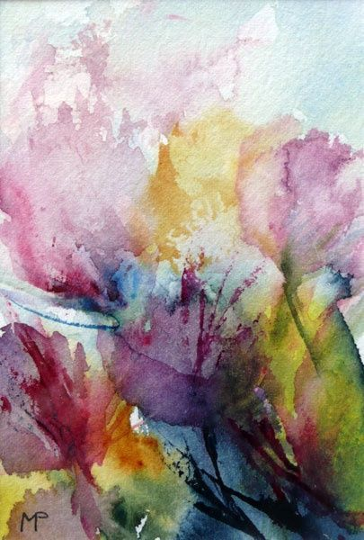Pin On Watercolor Flowers Fruits And Veggies
