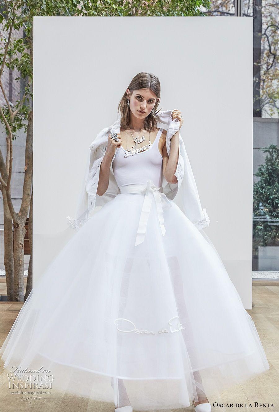 Oscar de la renta spring wedding dresses u new york bridal