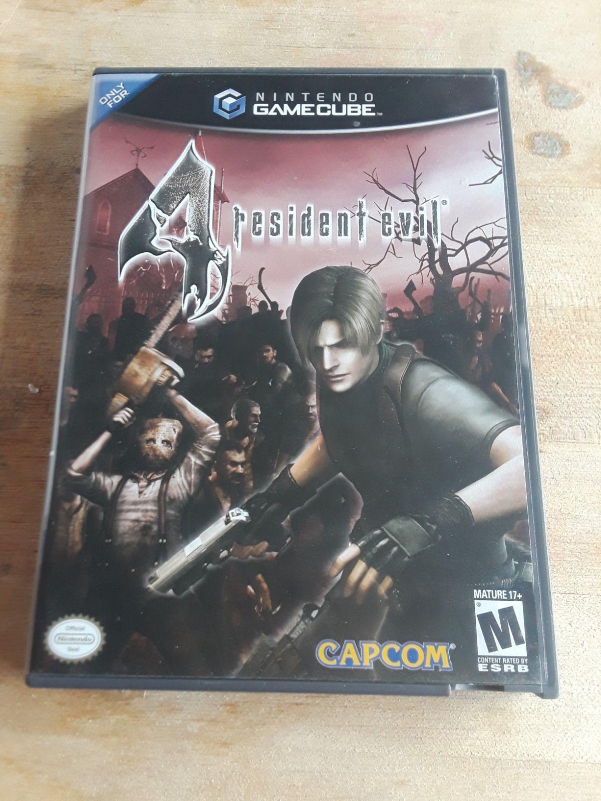 Resident Evil 4 For Gamecube Resident Evil Gamecube Evil