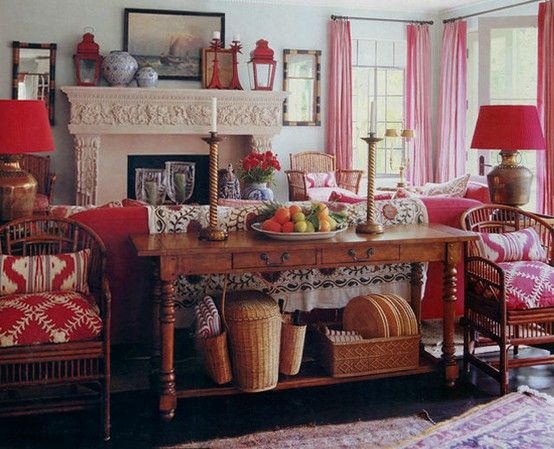 Hydrangea Hill Cottage French Country Decorating: Hydrangea Hill Cottage: Decorating With Red