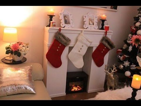 chimenea decorativa carton, Ideas para decorar en navidad