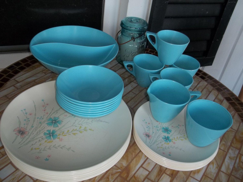Vintage Plastic Melmac Dinnerware History Melamine  Royalon & Vintage Plastic Melmac Dinnerware History Melamine : Royalon ...