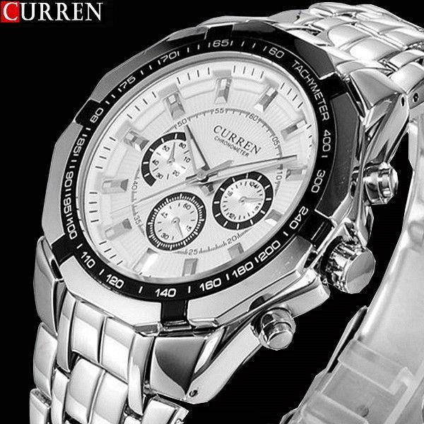 090510576c7 2018 New CURREN Watches Men Top Luxury Brand Hot Design Military Sports  Wrist watches Men Digital Quartz Men Full Steel Watch Price  22.39   FREE  Shipping   ...