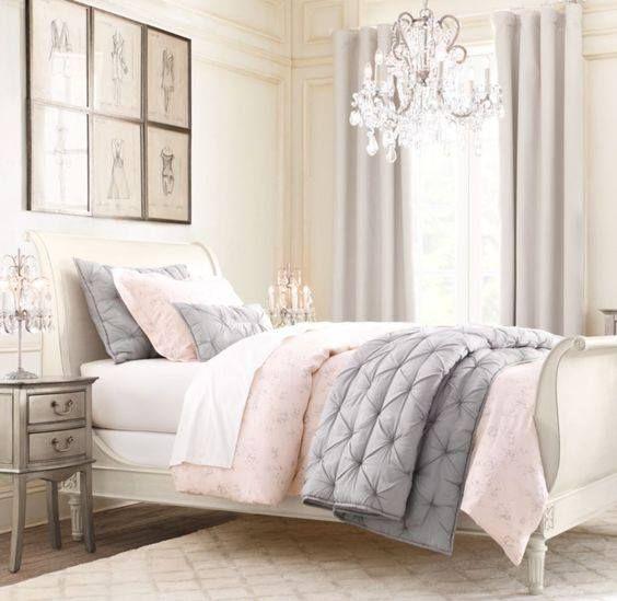 Perfekt Pastellfarbiges Schlafzimmer, Graues Schlafzimmer, Rosa Und Beige  Schlafzimmer, Graue Räume, Schlafzimmer Ideen