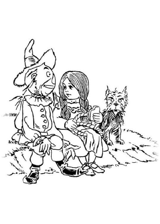 Ausmalbilder Fur Kinder Der Zauberer Von Oz 9 Zauberer Von Oz Ausmalbilder Ausmalbilder Kinder