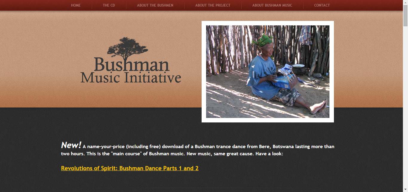 Bushman Music of Botswana - Music of the Kalahari Bushmen or