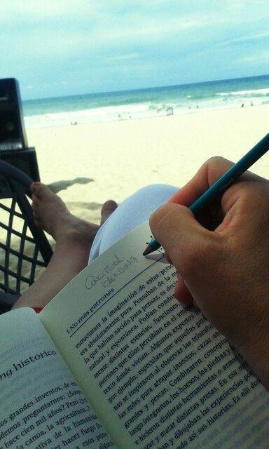 Ler e refletir na praia não tem preço