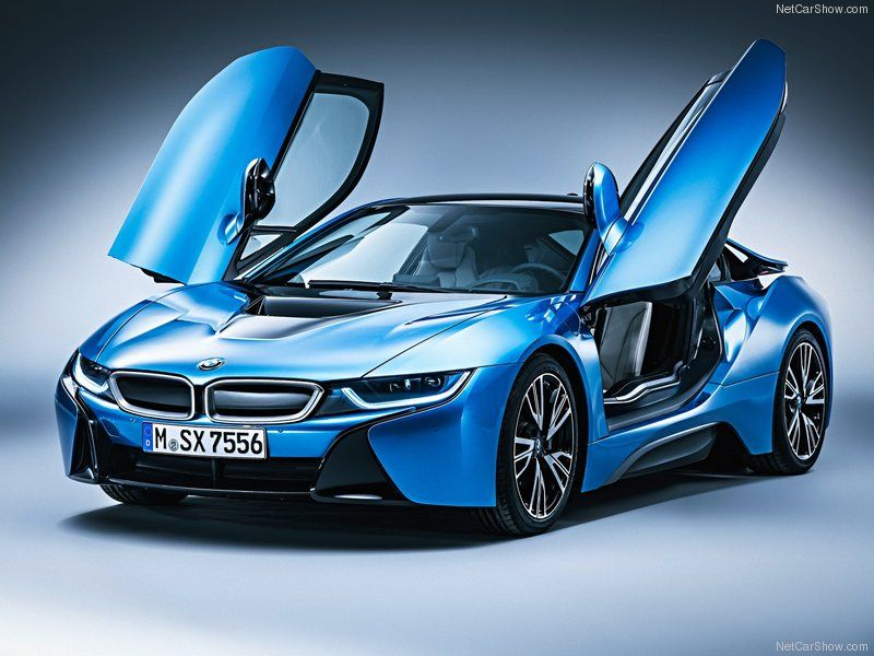 2017 Bmw I8 In Electric Blue