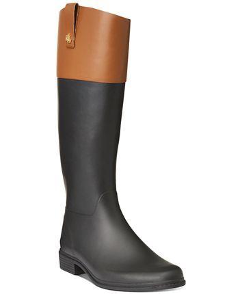 lauren ralph lauren barnes rain boots  reviews  boots