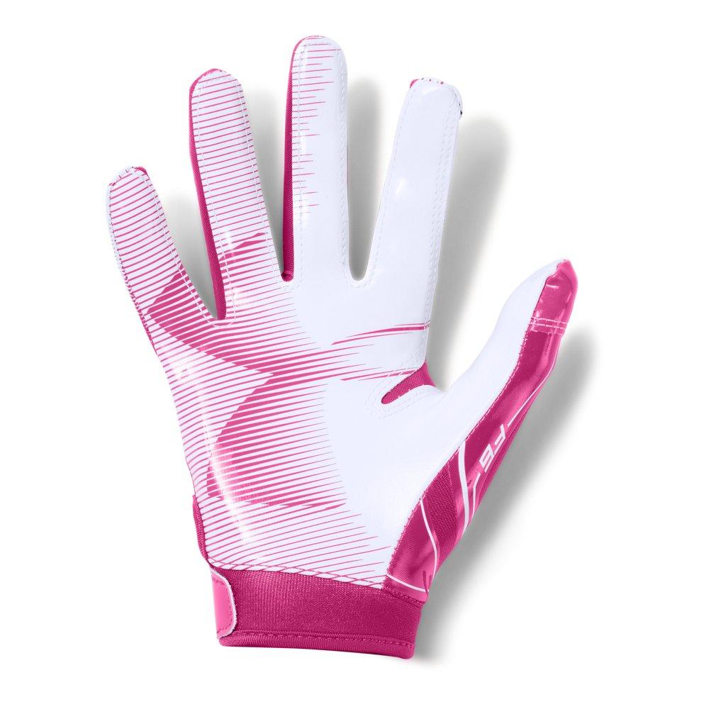 Boys ua f6 football gloves under armour us under