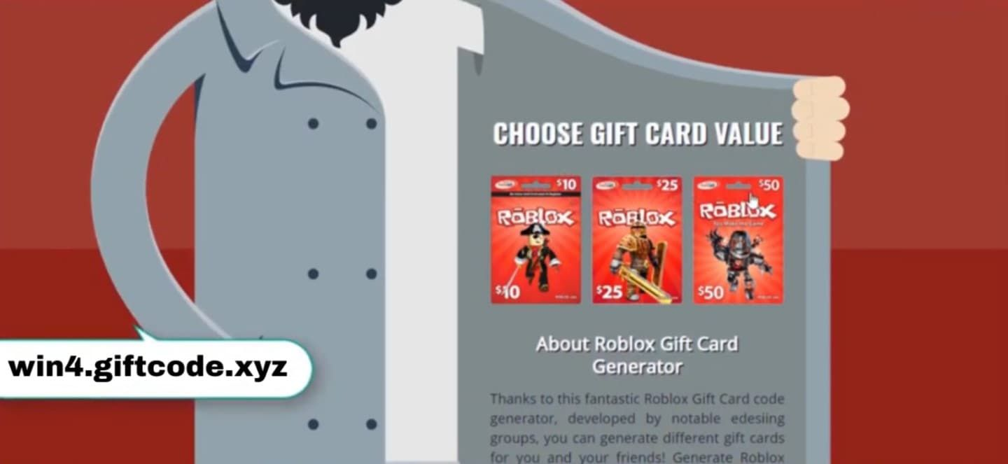 If You Need Free Roblox Gift Code Then You Need To Complete All