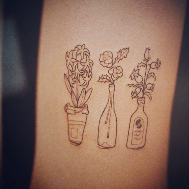 화분 하나하나에 이야기가 있는. #tattoo #tattooing #tattooistdoy #drawing #sketch #illust #타투 #타투이스트도이 #일러스트