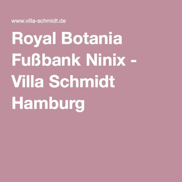Royal Botania Fußbank Ninix - Villa Schmidt Hamburg | Royal Botania ...