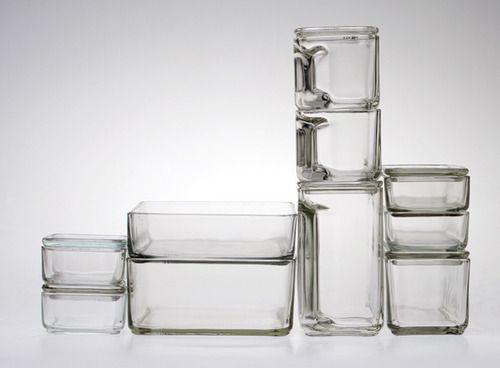 Glass Tupperware Koket Konst