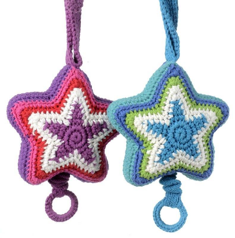 Hæklet stjerne uro | Christmas crochet | Pinterest