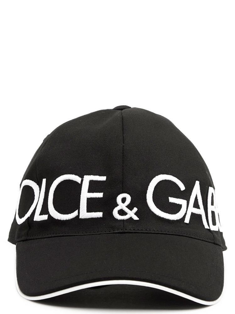 DOLCE   GABBANA DOLCE   GABBANA LOGO BASEBALL CAP.  dolcegabbana ... da79639c01f