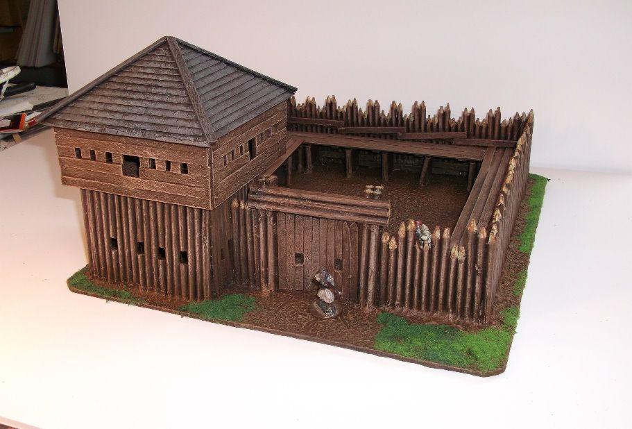Palisade Fortress Fantasy Builidings Pinterest Diorama