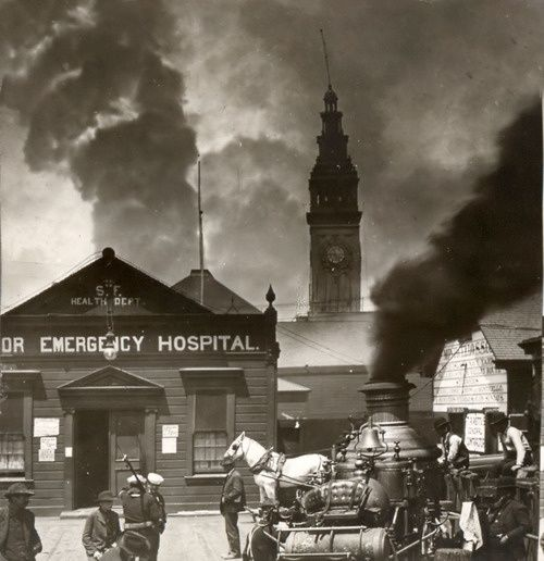 san francisco 1906 earthquake and fire | San Francisco Earthquake and Fire -1906