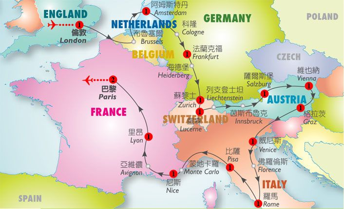 Image result for amsterdam and surrounding countries map Trip