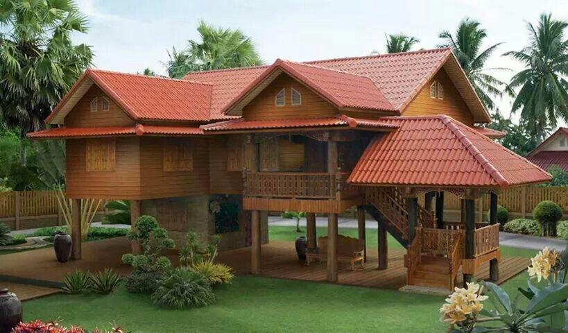 modern nipa hut house pinterest haus holzhaus und wohnen. Black Bedroom Furniture Sets. Home Design Ideas