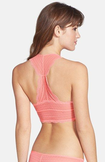 49373abdfef Honeydew Intimates  Scarlette  Lined Lace Bralette available at  Nordstrom