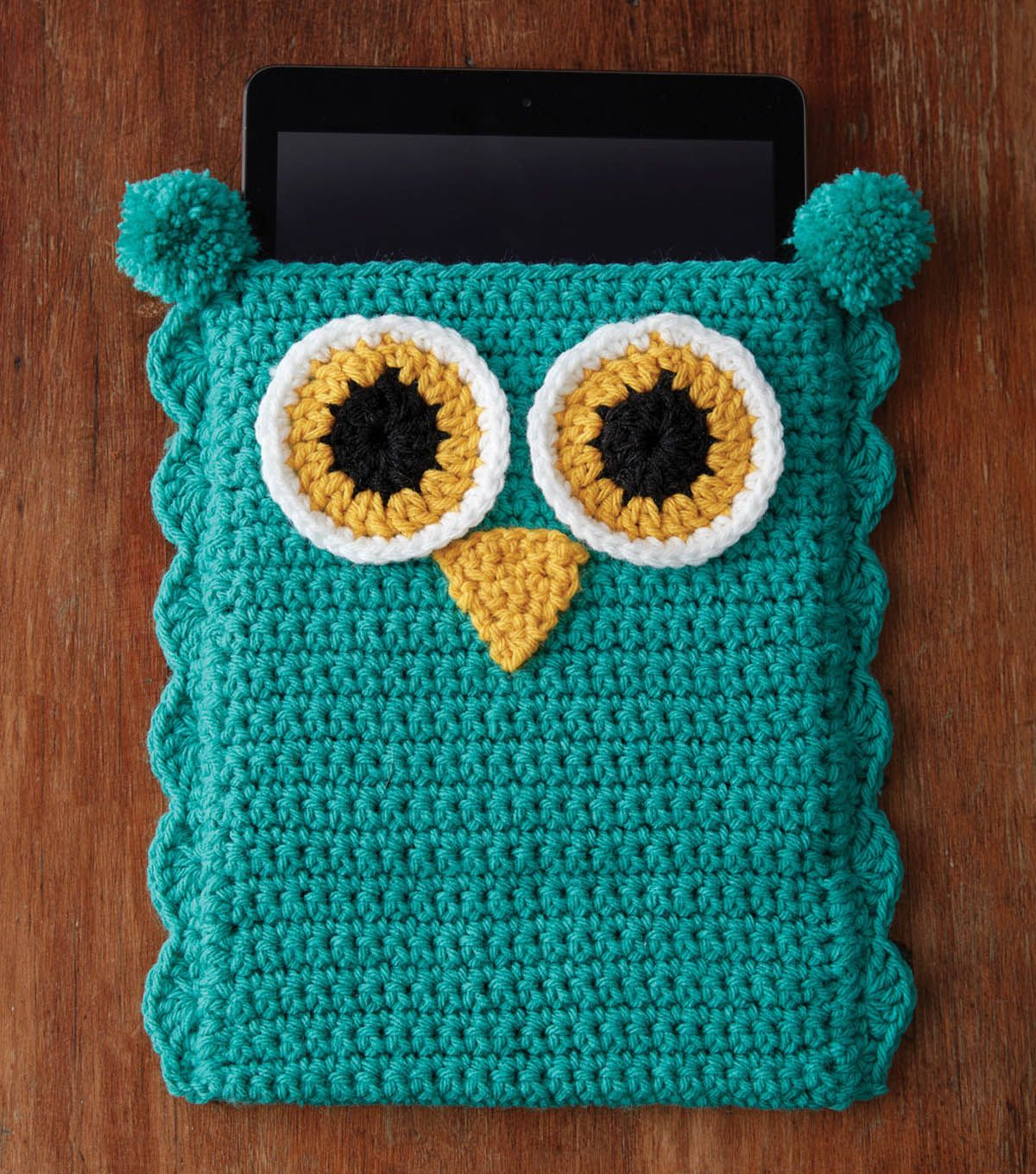 Cute Owl Tablet Cover: FREE crochet pattern … | crochet …