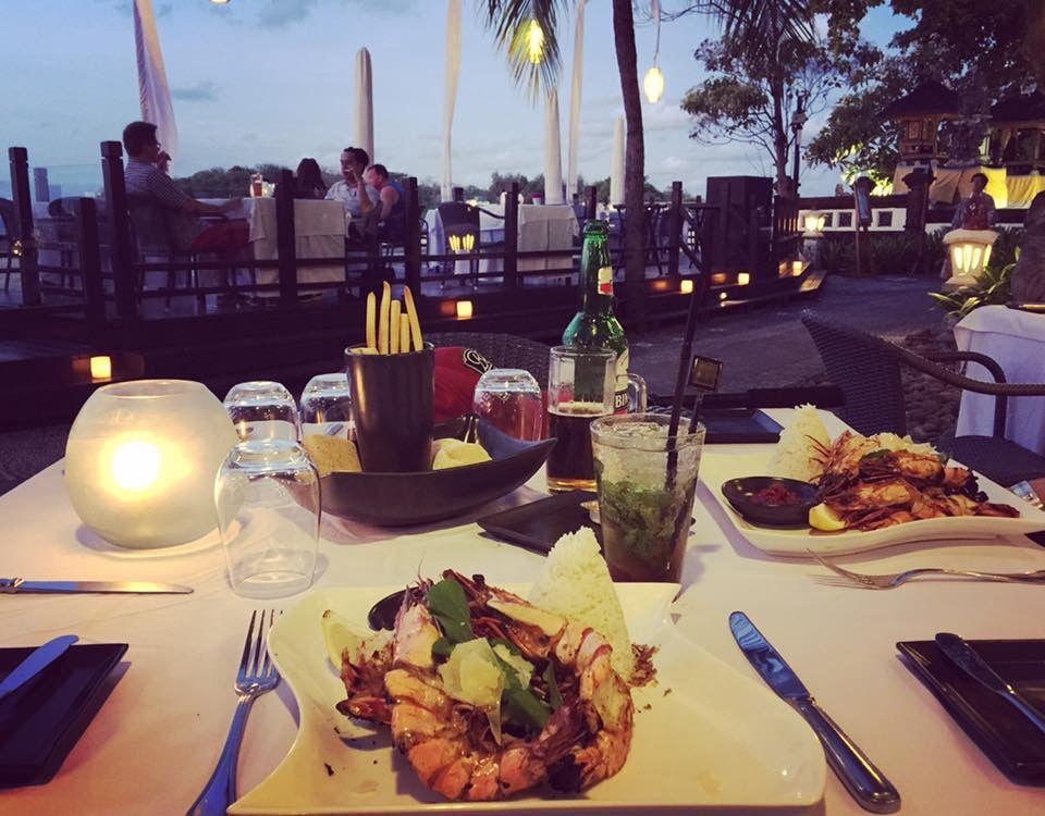 Dinner Melia Bali Bali island, Table decorations, Decor