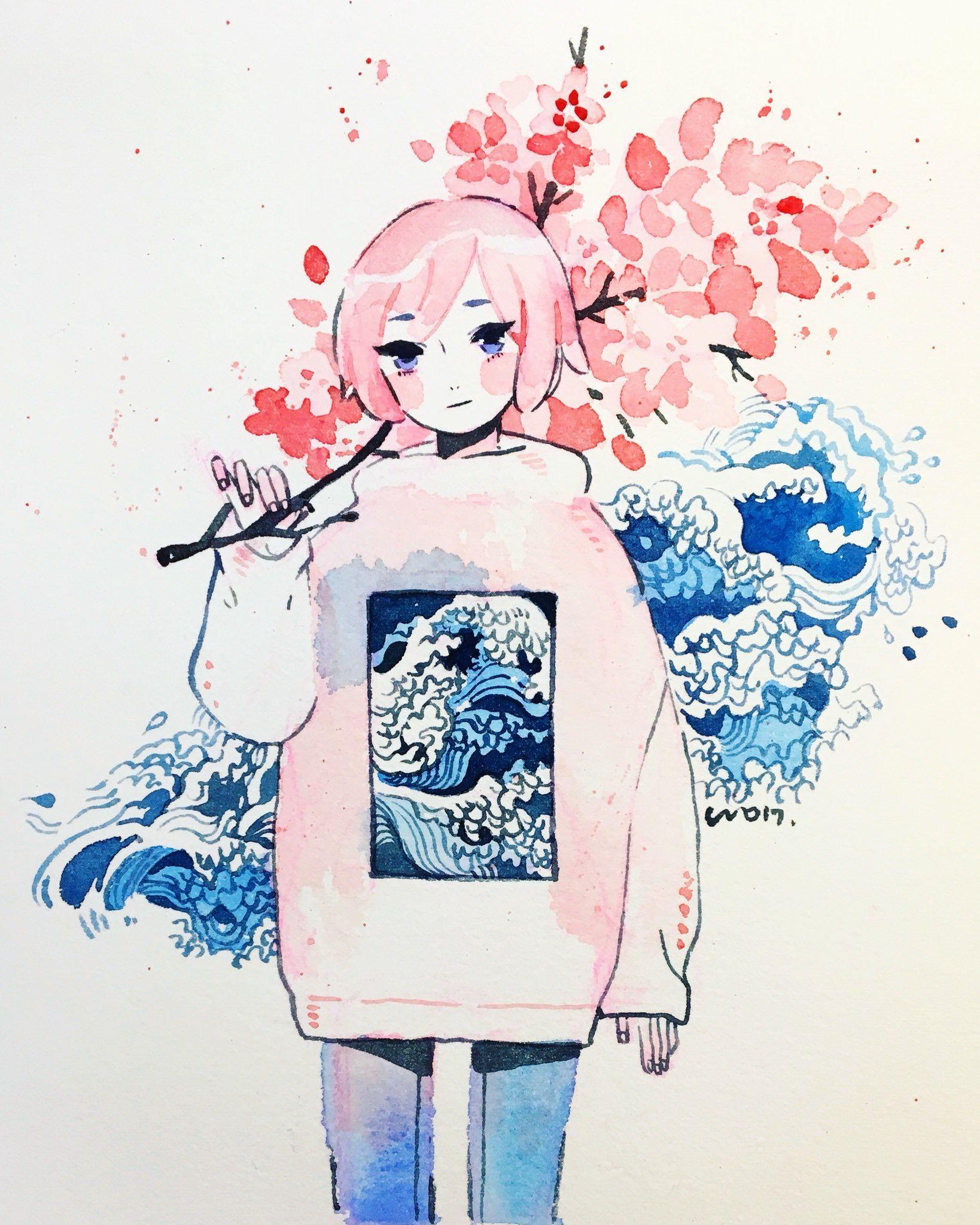 on Art, Anime art, Cute art