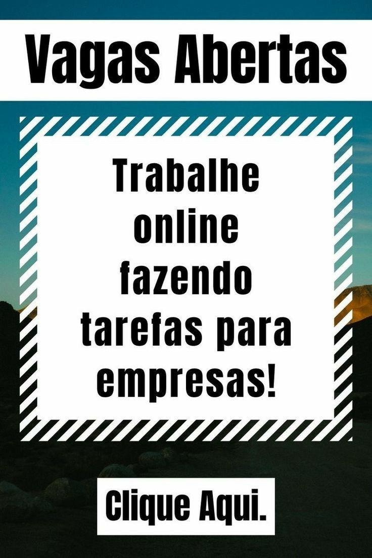 TRABALHE ONLINE