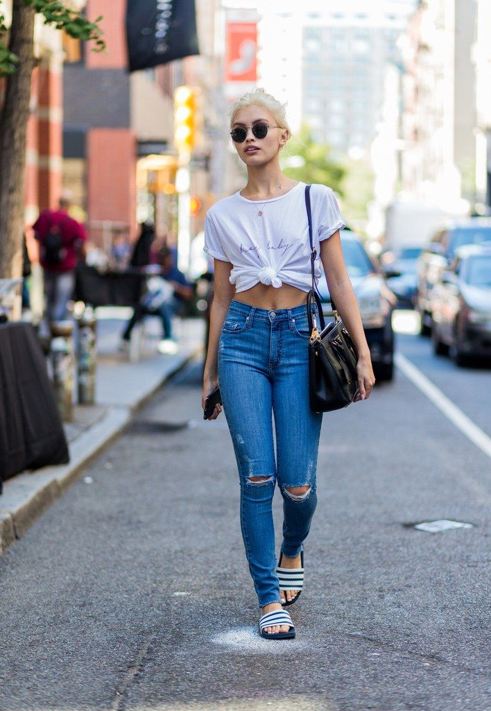 aa7a120e1d0 Here are 49 cute spring outfit ideas to copy right now.