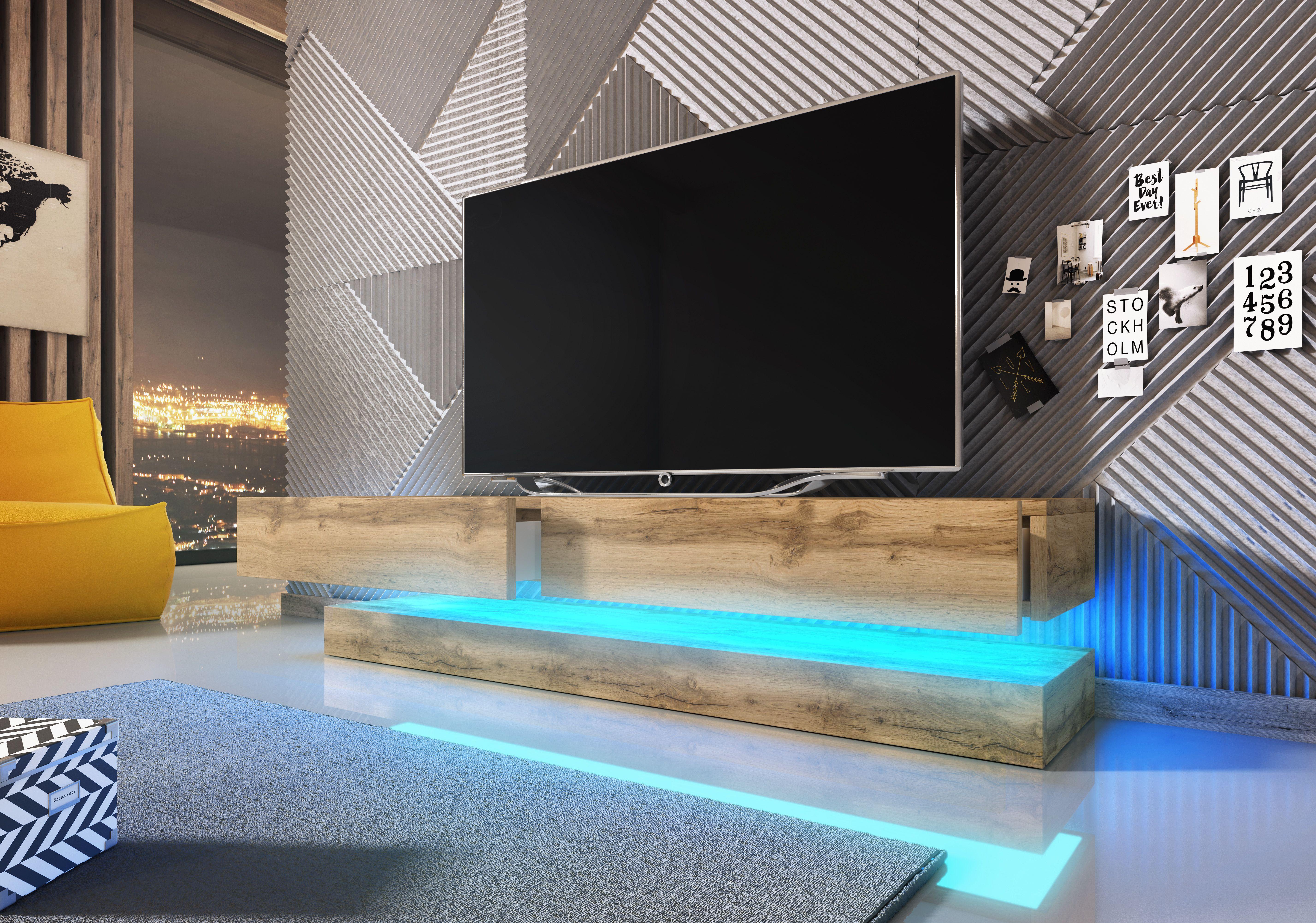 Nowoczesna Szafka Wiszaca Rtv Fyl Nowosc 6983712124 Oficjalne Archiwum Allegro Tv Stand Floating Tv Stand Tv Lowboard