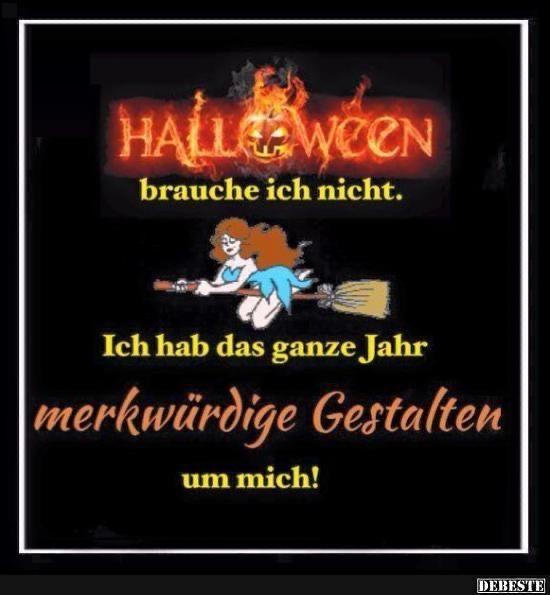 Pin von Petra Kehrle auf Halloween bilder | Witzige ...