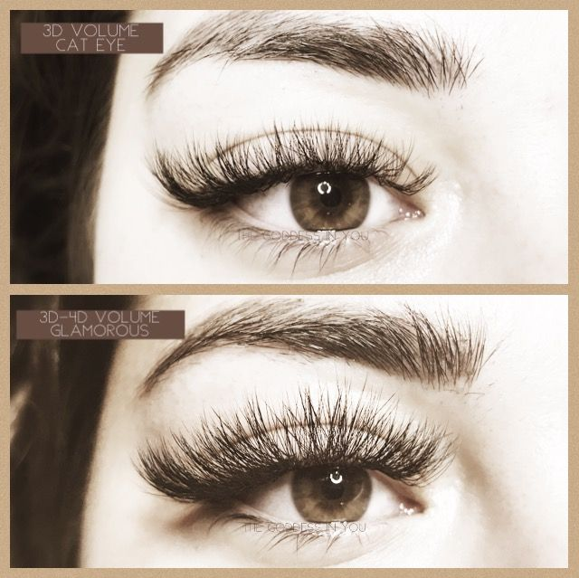 42c8a0e83f2 You can achieve many different looks with Eyelash extensions as you would  with strip lashes!