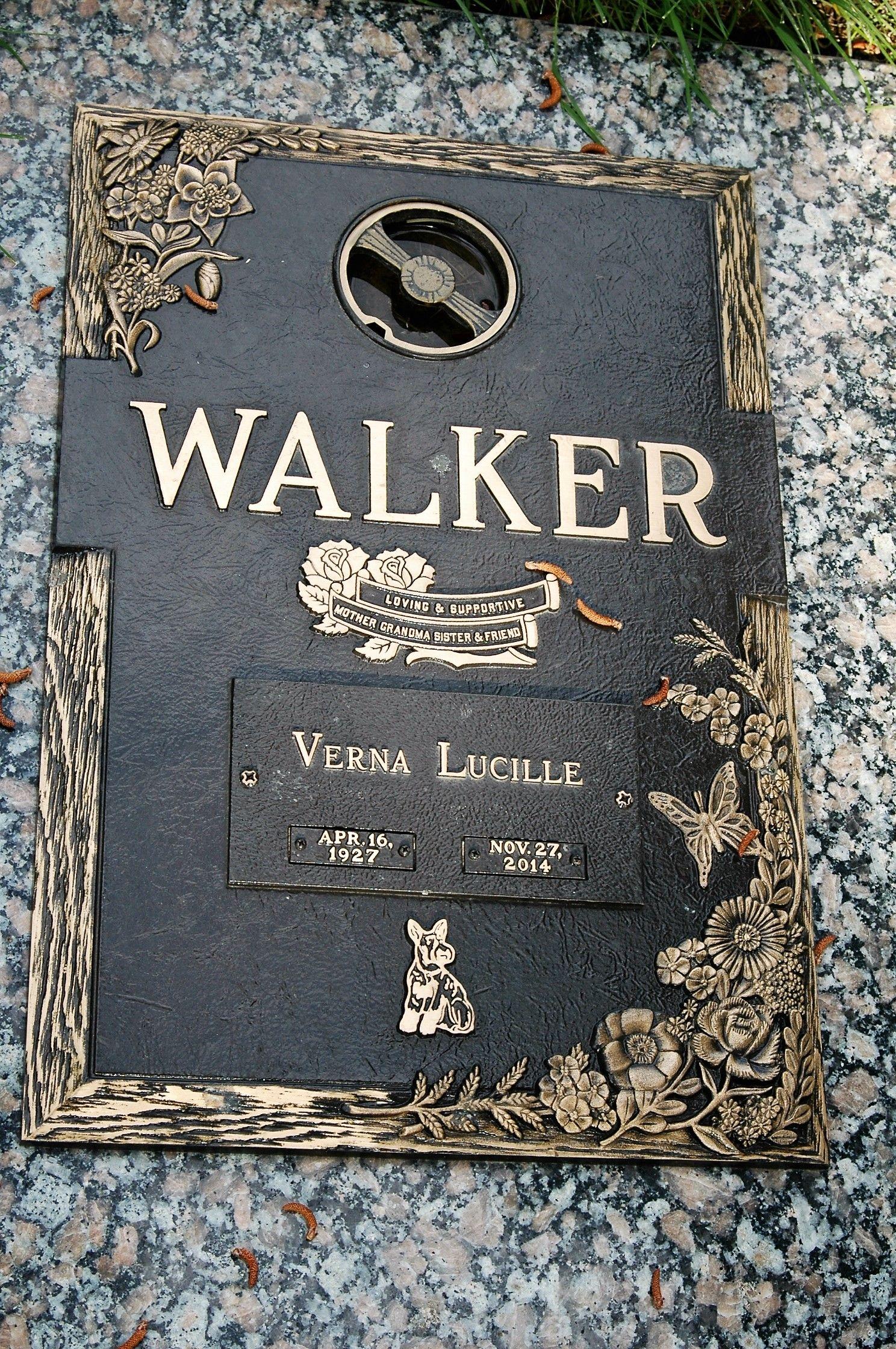 Verna Lucille Garver Walker 1927 2014 Find A Grave Memorial Clint Walker Lucille Walker