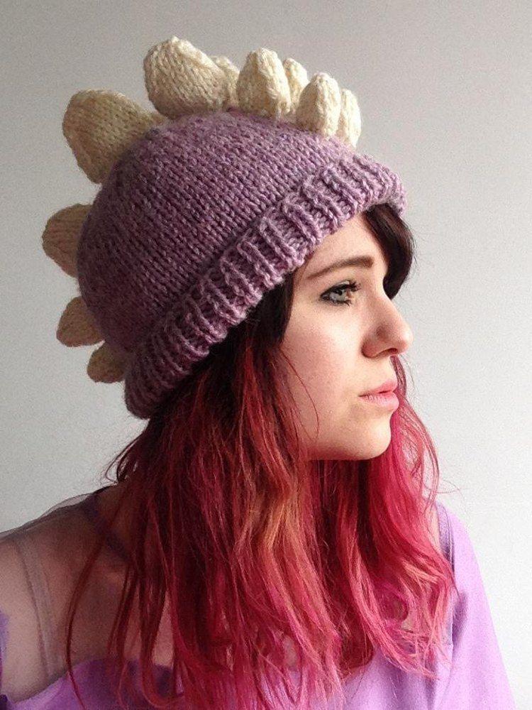 Stegosaurus Hat Knit Now Pinterest Dinosaur Pattern Knitting