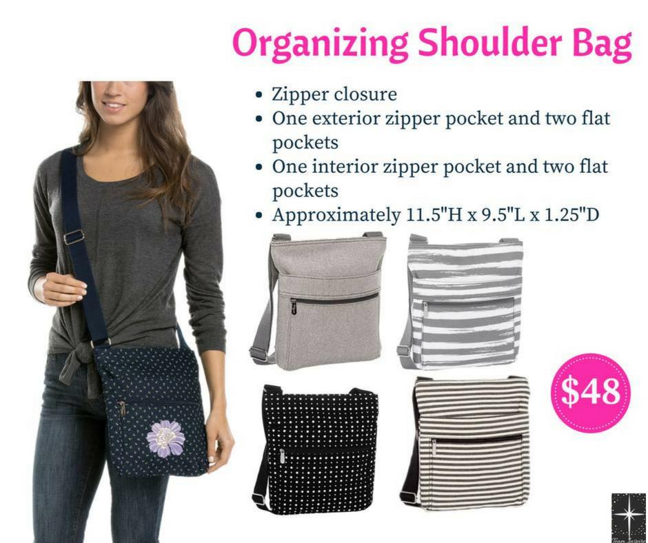 Organizing Shoulder Bag Double Stripe Thirty One Pinterest