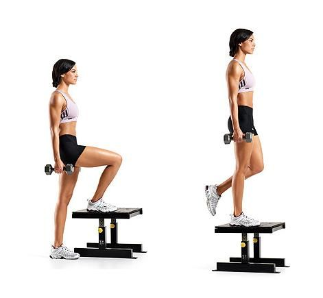 weighted dumbbell step ups google search she sweats 12