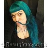 Aquamarine Adore Hair Dye Photo Gallery