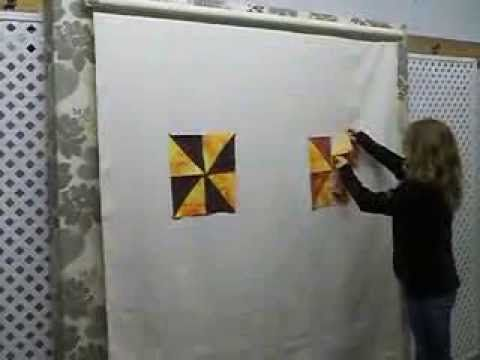 Easy Quilt Systems Retractable Design Wall Quilts