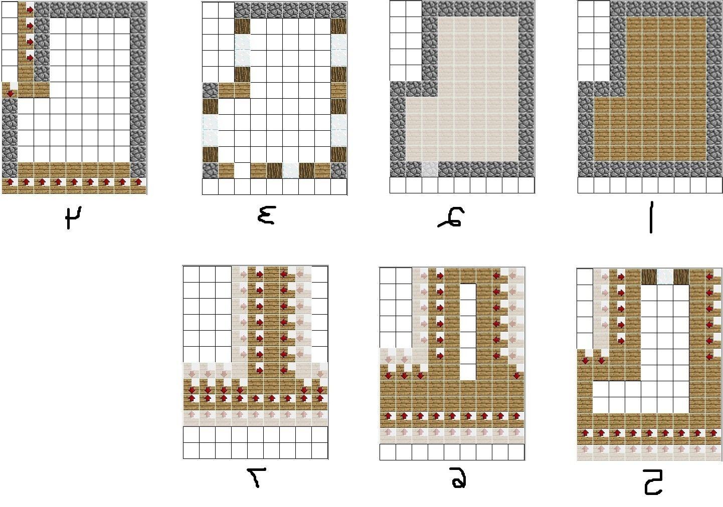 Minecraft Building Ideas Blueprints Minecraft Map