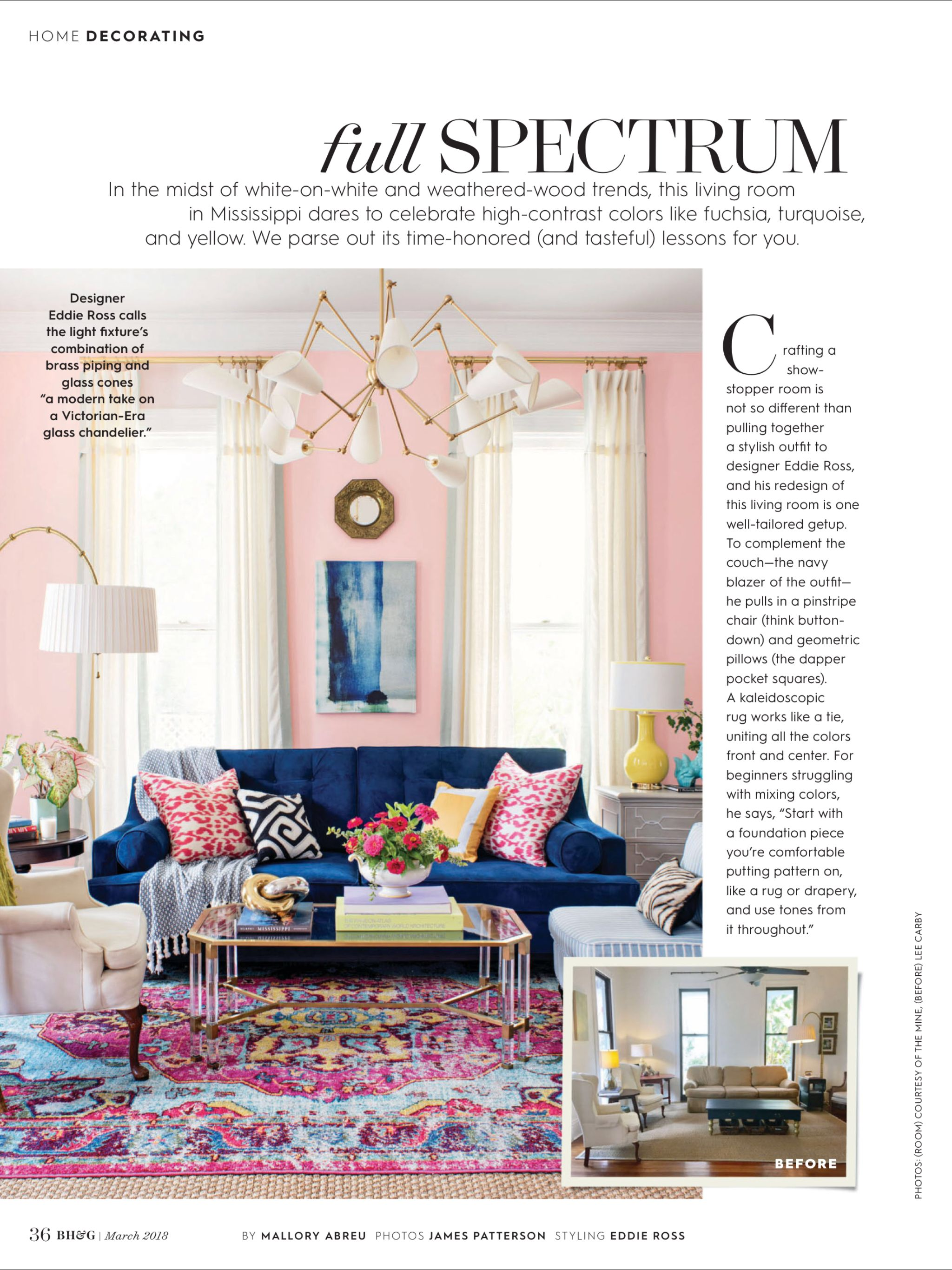 Full Spectrum From Better Homes And Gardens March 2018 Read It On The Texture App Unlimited Access To 200 Top Magazines Home Decor
